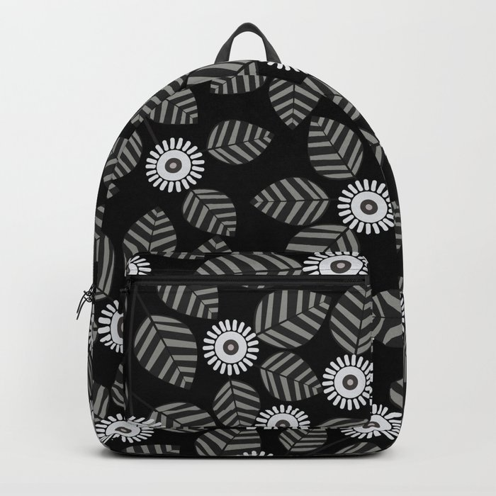 flower and leaf 28 Backpack