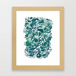 Waters Framed Art Print