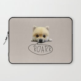Cute pup with the heart of a tiger Laptop Sleeve