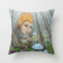 An Offering Throw Pillow
