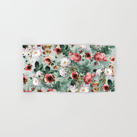 Rpe Seamless Floral Pattern I Hand & Bath Towel