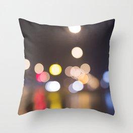 bohek lights Throw Pillow