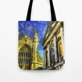 City Of Bath Vincent Van Gogh Tote Bag