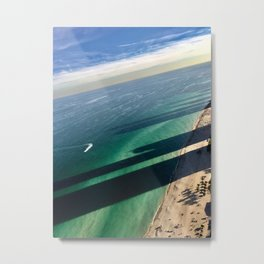 Built by the Sea Metal Print