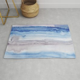 8    190907   Watercolor Abstract Painting Rug