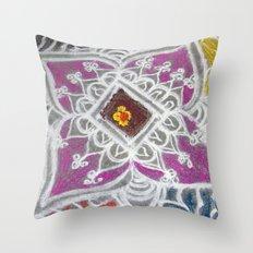 Festive Morning Throw Pillow