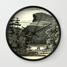 The Old Man of the Mountain Wall Clock