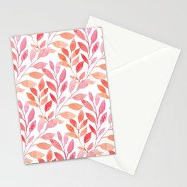 Peach Echo Stationery Cards