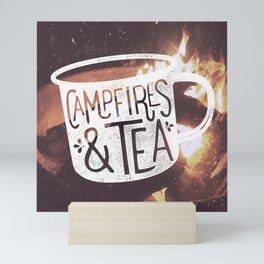 Campfires & Tea Mini Art Print