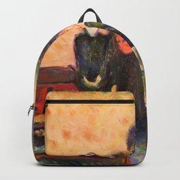 Edvard Munch - Death Struggle - Digital Remastered Edition Backpack