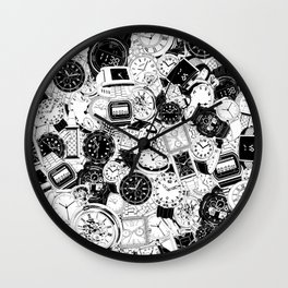 Tick Tock Wall Clock