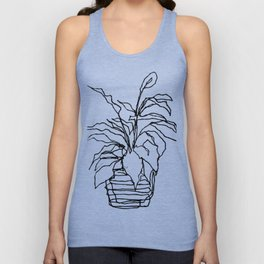 plant at the bank Unisex Tank Top