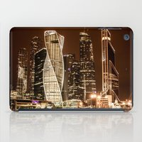 moscow iPad Cases featuring Moscow city by Vlad&Lyubov