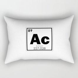Actinium chemical element Rectangular Pillow