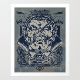 Classic Monsters Series: Dracs Art Print