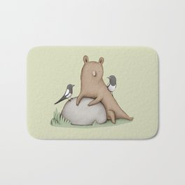 Bear & Birds Bath Mat