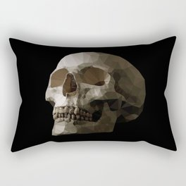 Polygon Skull Rectangular Pillow