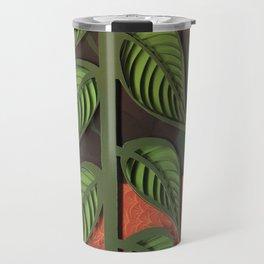 Fox paper art, hand drawn / paper quilling / cut paper Travel Mug
