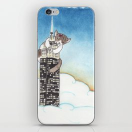 Miss Kitty Takes New York iPhone Skin