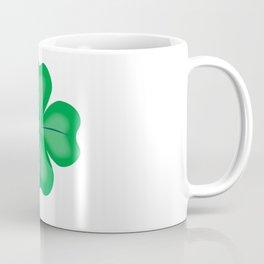 Lucky Four Leaf Shamrock Coffee Mug