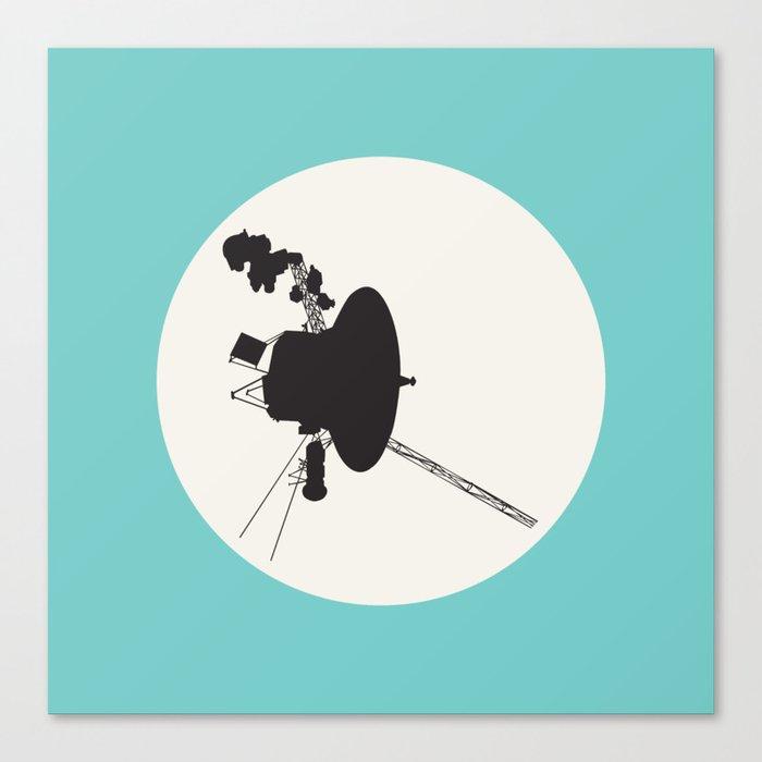 Voyager 1 Canvas Print