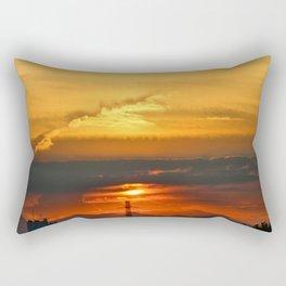 Sunset Horizon Rectangular Pillow