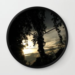 Ending Light Wall Clock