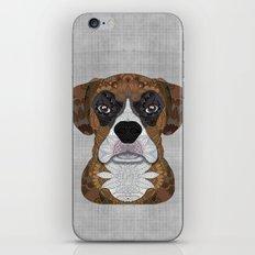Boxer iPhone & iPod Skin
