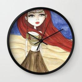 Desert Queen Wall Clock