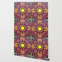 Tribal Gathering Mandala Wallpaper