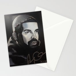 scorpion album,ovo,rapper,colourful,colorful,poster,wall art,fan art,music,hiphop,rap,rapper Stationery Cards