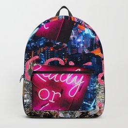 Neon New York Backpack