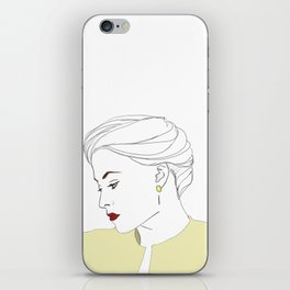 The Woman iPhone Skin