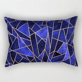 Shattered Sapphire Rectangular Pillow