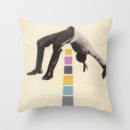 High Jump Throw Pillow