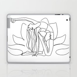 Yoga Art, Yoga Poster, Yoga Gift, Yoga Pose, Self Care Art, Plant Lady Print, Self Love Art, Self Lo Laptop & iPad Skin