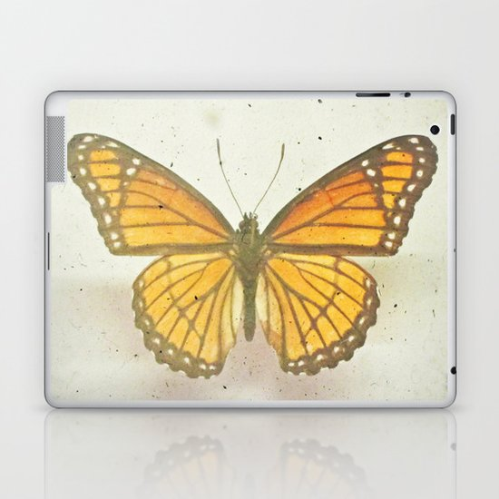 Golden Butterfly Laptop & iPad Skin