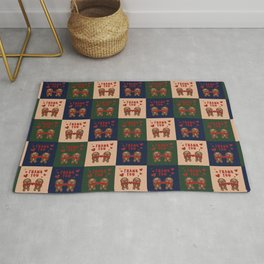 Gingerbread Love Thank You - AOP Rug