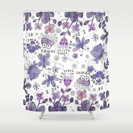 I See Beautiful Things Around Me Shower Curtain