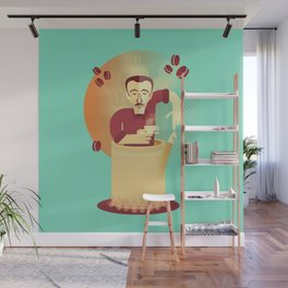 Eduardo's coffee Wall Mural