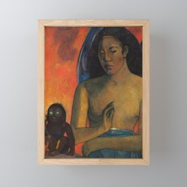 Poemes Barbares by Paul Gauguin Framed Mini Art Print