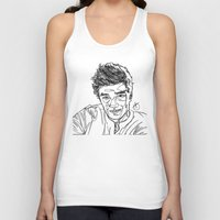 liam payne Tank Tops featuring Liam Payne by Hollie B