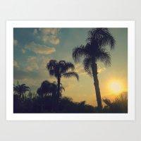 florida Art Prints featuring Florida by Jillian Stanton