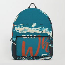 Ski Whistler Canada Backpack