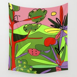 Selva #5 Wall Tapestry