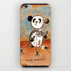Mend Yourself iPhone & iPod Skin
