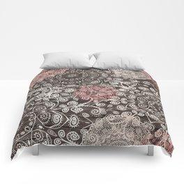 HAPPY GO LUCKY - BOHO WOOD Comforters