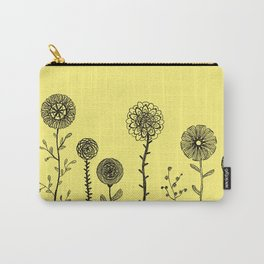 Flowers yellow Carry-All Pouch