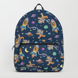Gingerbread Astronauts Backpack
