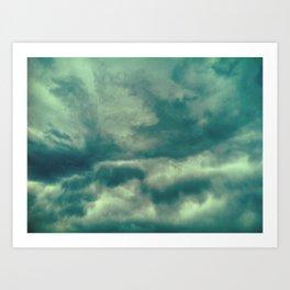 Cloudy Days, CO, 2011 Art Print